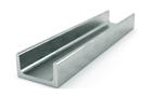 Швеллер алюминиевый п-образный